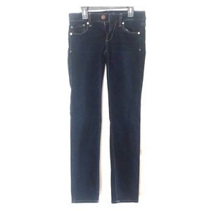 American Eagle Dark Wash Skinny Jeans (Short)